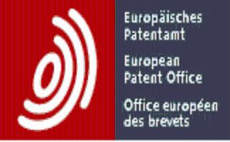 European Patent Office / Europäisches Patentamt