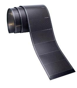 leistungsf hige flexible solarzellen f r geb ude. Black Bedroom Furniture Sets. Home Design Ideas