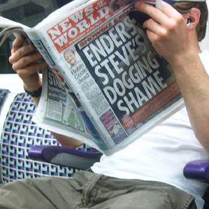 Zeitung: Journalismus bekommt Kratzer Foto: FlickrCC/Annie Mole)