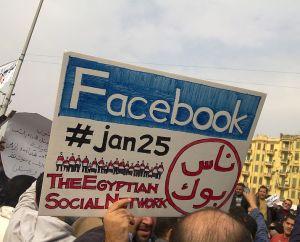Arabischer Frühling: Social Media mischt mit (Foto: Wikipedia, cc E. Sharaf)