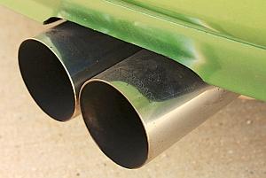 Auspuff: Was vom Diesel übrig bleibt, macht krank und dick (Foto: Flickr/McClay)