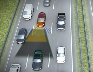 Traffic Jam Assist: Entlastung des Lenkers bei Stau (Foto: YouTube/fordvideo1)