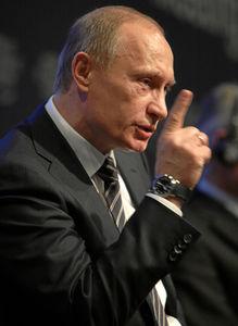 Vladimir Putin: China und Indien unterstützen ihn (Foto: flickr.com/wef)