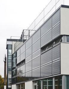 PV facade Hanover School in Islington/London (picture: ertex solar)