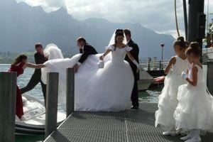 Hochzeit: Bräute wollen Skype-Übertragung (Foto: pixelio.de, Stricker)