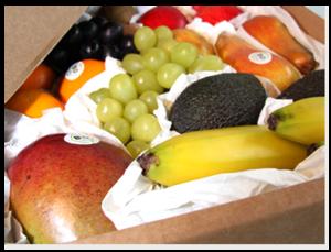 Lieferung: Gasgetriebene Pkw fahren Obstpakete zum Kunden (Foto: biodirekt.de)