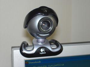 Kamera am PC: kann ungefragt knipsen (Foto: Wjatscheslav Dumler, pixelio.de)