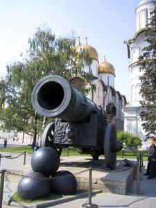 Kanone im Kreml: Krim-Annexion folgenschwer (Foto: pixelio.de/ivak)