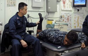 Physiotherapie: virtuelle Alternative vorgestellt (Foto: flickr.com/US Navy)