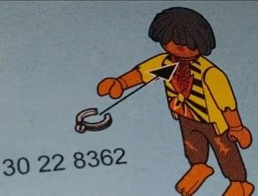 Playmobil-Bauanleitung: Sklave erhält Halsband (Foto: sacramento.cbslocal.com)