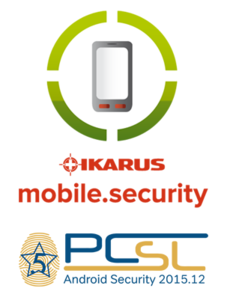 5 Sterne für IKARUS mobile.security (Bild: IKARUS Security Software)