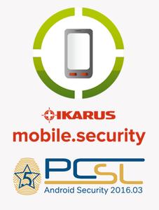 IKARUS mobile.security wurde mit 5 Sternen ausgezeichnet (Bild: IKARUS)