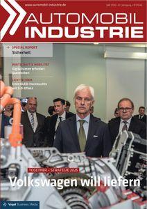 Titelseite der Juli-Ausgabe von Automobil Industrie (Foto: Vogel Business Media)