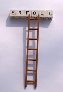 Leiter zum Erfolg: Narzissten klettern hinauf (Foto: pixelio.de/S. Hofschläger)