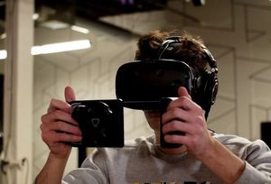 CES-Demo: Fotografieren in virtuellen Welten (Foto: dotdotdash.io)