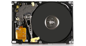 IBM Travelstar HDD gerettet (Foto: RecoveryLab Datenrettung Ilmenau)