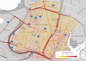 Google Maps: Neuer Ansichtsmodus zeigt die Luftqualität (Foto: google.maps.com)