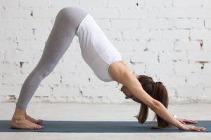 """Yoga-Übung """"Herabschauender Hund"""": nicht ganz ungefährlich (Foto: sydney.edu.au)"""