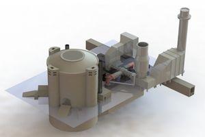 Computeranimation des neuen Ziegelstein-Wärmespeichers (Bild: web.mit.edu)