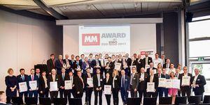 Sieger und Shortlist-Gewinner des MM Award zur EMO Hannover (Foto: R. Pawlowski)