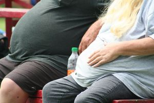 Zu dick: Übergewicht fördert das Krebsrisiko (Foto: flickr.com/Tony Alter)