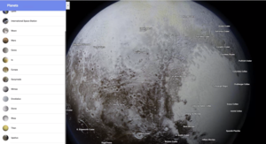 Himmelskörper: User können Oberfläche studieren (Foto: google.com)