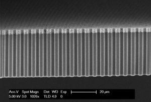 Nanodrähte: Forscher machen aus Licht nutzbaren Wasserstoff (Foto: utwente.nl)
