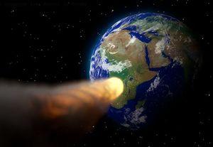 Horror-Szenario: Ein Asteroid rast auf die Erde zu (Foto: pixabay.com/MasterTux)
