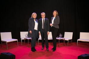 BGMin Maria-Luise Mathiaschitz, BGM Klaus Luger, BGMin Elisabeth Paruta-Teufer