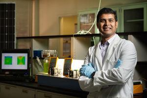 Veera Gnaneswar Gude nutzt Bakterien als Sensoren (Foto: msstate.edu)