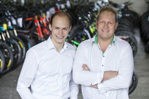 CEOs Philipp Zimmermann & Richard Hirschhuber (Foto: greenstorm.eu)
