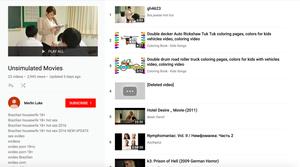Manipulierte Playlist: Pornos inmitten von Clips für Kids (Foto: youtube.com)