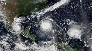 Hurrikans: Antrieb der Intensität durch Naturphänomen (Foto: pnnl.gov)