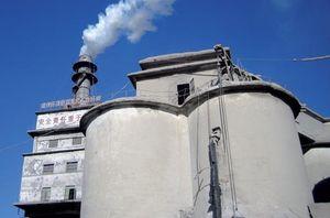 Zementwerk: Das stößt viel CO2 aus (Foto: Kåre Helge Karstensen, sintef.no)