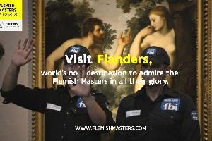Zensoren im Museum: schöne neue Facebook-Welt (Foto: toerismevlaanderen.be)