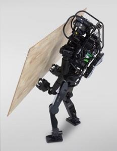 """Trockenbauer """"HRP-5P"""": Gipskarton wird jetzt Roboter-Sache (Foto: aist.go.jp)"""