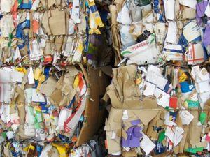Altpapier: Nur recyclebar, wenn nicht verunreinigt (Foto: Roxy, pixelio.de)
