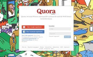 Quora: Hacker greifen Online-Fragedienst an (Foto: quora.com)