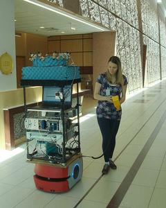 Roboter für die Messung von Funksignalen für bessere Antennen (Foto: nist.gov)