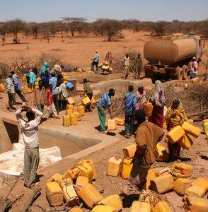 Wasserknappheit in Afrika ist schon heute ein großes Problem (Foto: oxfam.org)