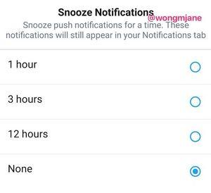 """""""Snooze-Button"""": bereits im Code von Twitter (Foto: twitter.com, @wongmjane)"""