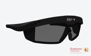 So könnte die neue 5G-Datenbrille aussehen (Foto: qualcomm.com)