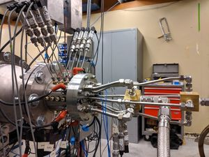 RDE auf dem Prüfstand im Labor (Foto: James Koch, washington.edu)