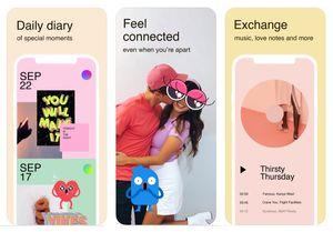 """""""Tuned"""": Social-App von Facebook für Paare (Foto: apple.co/2RmkBA7)"""