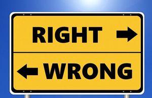 Richtig oder falsch: KI soll moralisch handeln (Foto: pixabay.com, Tumisu)