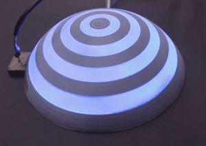"""""""Protospray"""": Displays zum """"Aufsprühen"""" möglich (Foto: youtube.com, ACM SIGCHI)"""