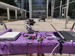 Versuchsaufbau auf dem Campus der University of California (Foto: ucsd.edu)