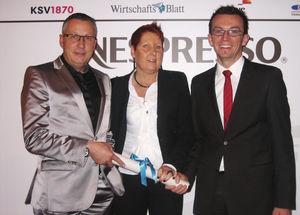 Redwell-Management bei der Verleihung
