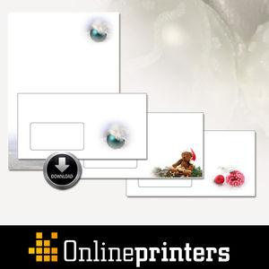 Papiers à lettres de Noël