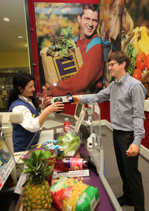 Mobile Payment at EDEKA